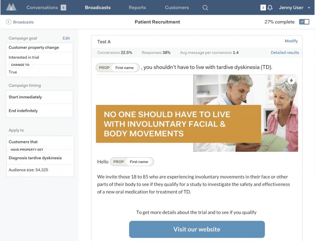Motiva PX for Healthcare Patient Recruitment