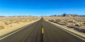 Desert Road Scenic image