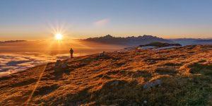 Mountaintop scenic image